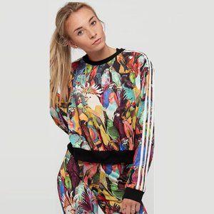ADIDAS Tropical Birds Long Sleeve Sweater Jumper